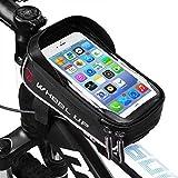 LIDIWEE Rahmentasche Fahrrad, Fahrrad Tasche Handy 6', Lenkertasche Fahrrad Wasserdicht,...