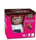 Truffettes de France Schokoladen-Fondue-Set / Schokoladen-Fondue-Set - 1 x 200 Gramm