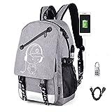 Aokay USB Schulrucksack Schulranzen Schultasche Sports Rucksack Freizeitrucksack Daypacks Backpack...
