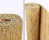 Schilfrohrmatten Premium 'Beach', 160 hoch x 600cm breit, ein Produkt von bambus-discount -...