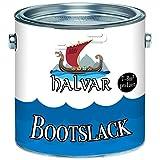 Halvar Bootslack Yachtlack Bootsfarbe Yachtfarbe PU-verstärkt für Holz verstärkt, extrem...