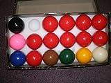 17 Kugel-Snooker-Set, inkl. 10 Ball 5.08 cm, Rot