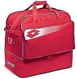 Lotto Fußball Tasche Omega II optional Stickerei/Print auf Anfrage erhältlich, Flame/White
