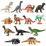 TOYMYTOY Mini Dinosaurier Spielzeug Set Dinosaurier Figuren für Kinder Ausbildung, 12 Stück