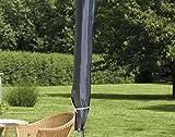 Hochwertige Schutzhülle für Sonnenschirme von 200 bis 400 cm - Material: Oxford 420D - Schirm...