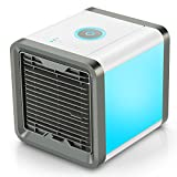 COMLIFE 4 in 1 Mini Luftkühler, Mobile Klimageräte Air Cooler Luftbefeuchter Difffuser und...