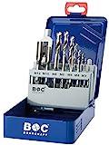 Bohrcraft Gewindebohrer Set HSS-G in Industriekassette EGB 15/M3 - M12/15-teilig/4120 14 10015