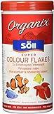 Söll 16147 Organix Super Colour Flakes - Aquariumfutter - Zierfischfutter - Flockenfutter - 490 ml