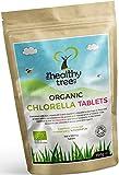 Bio Chlorella-Tabletten - Reich an Chlorophyll, Protein, Eisen und Aminosäuren - Gebrochene...