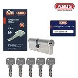 ABUS EC660 Doppelzylinder Türzylinder (30/35) inkl. 5 Schlüssel und Sicherungskarte