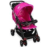 Kinderwagen RANGER S4-2 Gepolsterter 5-Punkt Sicherheitsgurt Pink