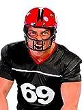Guirca Fiestas GUI13972 - American Football Helm Schwarz oder Rot (Nicht Wählbar)
