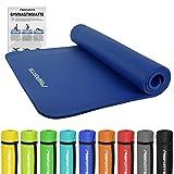 Gymnastikmatte Premium | inkl. Übungsposter | Hautfreundliche - Phthalatfreie Fitnessmatte -...