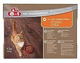 8in1 Katze Nassfutter Senior Huhn ( für ältere Katzen ab 7 Jahre, mit Hühnchen in Sauce), 12 x...