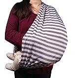 Stilltuch / Stillschal für diskretes Stillen Ihres Babys unterwegs: Unser 2 in 1 MyTinyPearl...