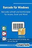 Barcode für Windows - Barcodes mit Excel, Access und Word - für Etiketten, Serienbriefe, Formulare...