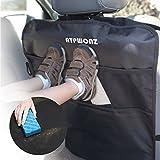 ATPWONZ 2 Stück Kick-Matte Rückenlehnenschutz Kinder Rücksitzschoner Rücksitz-Autotasche Kinder,...