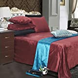 Herbst/Winter warm kurze Plüsch Bettwäsche/Verdickte Bettwäsche für eine oder zwei Personen-I...