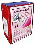 Bio Aroniasaft 3l Box, ! Neue Ernte 2017 ! Original von Aronia Kühnert, 3 Liter Direktsaft, 100%...