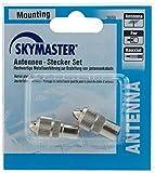 Skymaster Asks Antennen/Stecker/Kupplung Set Metall
