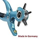 S&R Lochzange Präzision /MADE IN GERMANY / Revolverlochzange Pfeifzange M 225 mit 6 auswechselbaren...