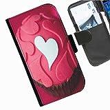 Hairyworm- Kuchen Seiten Leder-Schützhülle für das Handy Motorola Moto G (1ST GEN) (X1032)