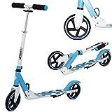 Best Sport Kinder Scooter Mit Abec-7 Scooter, weiß/blau, M, 2307279