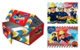 Feurwehrmann Sam Rettungsbox mit 2 Puzzles [UK Import]