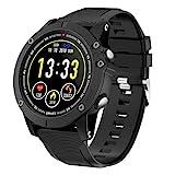 HolyHigh Bluetooth Smartwatch Fitness Tracker Sport Uhr Smart Watch mit IP68 Wasserdicht...