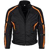 Limitless Herren Motorradjacke mit Protektoren und Reflektoren - Textil Motorrad Jacke aus Cordura -...