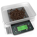 Coffee Gator Digitale Kaffee Waage mit Timer Ladeschale, Multifunktion