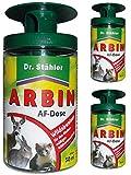 GARDOPIA Sparpaket: 3 x 50 ml Dr. Stähler Arbin AF Dose, Wildtierabwehr Fernhaltemittel + Gardopia...