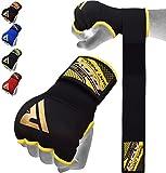 RDX Boxbandagen Boxen Elastisch Innenhandschuhe MMA Handschuhe Daumenschlaufe