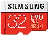 Samsung EVO Plus Micro SDHC 32GB bis zu 95MB/s, Class 10 U1 Speicherkarte (inkl. SD Adapter) [Amazon...