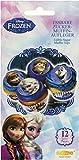 Decocino Muffinaufleger Frozen HOCHWERTIGE Kuchendeko von DEKOBACK | essbare Muffinaufleger | Disney...