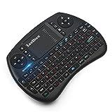 (Sonderangebotswoche)Mini drahtlose Tastatur mit Touchpad Maus Leelbox 2,4Ghz mini wireless Keyboard...