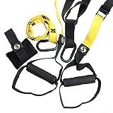 SHKAX Sling Trainer 5 in 1 Fitness Sling Türanker und Loops für Indoor- Oder Outdoor-Training...