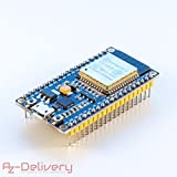 AZDelivery ESP32 NodeMCU Module Wlan Wifi Development Board mit CP2102 (Nachfolgermodell zum...