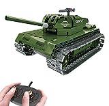 Modbrix Bausteine 2,4 Ghz RC Panzer Ferngesteuert, Konstruktionsspielzeug mit 453 Bauteilen,...