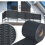 HG 70 m x 19 cm Sichtschutzstreifen Stabmattenzaun Streifen PVC verschiedene Modelle für den...