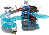 Theo Klein 2809 - Bosch Parkhaus mit 3 Ebenen und Turm mit Spurwechsel, Spielzeug