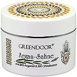 Körperbutter Greendoor Argan-Creme OHNE Glimmer Argan-Sahne aus BIO Arganöl und BIO Shea-Butter,...