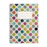 WIREBOOKS Notizbuch | Notizblock | Notizheft | Spiralblock 5053 DIN A5 120 Seiten 100g Papier...