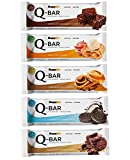 Protein Riegel Eiweiß Low Carb Q-Bar – Whey Isolat Proteinriegel Fitness Snack Von Supplify –...