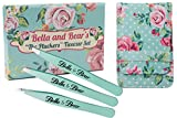 Pinzette von Bella and Bear  Pinzetten Set aus Edelstahl mit Etui Enthält Pinzetten mit...