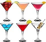 Rink Drink Martini Cocktail Glas - 175ml - 6er Geschenkbox