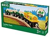 BRIO World 33775 - Holz Transportzug, bunt