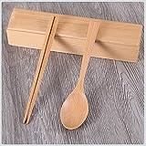 TAOtTAO Tragbares im Freien hölzernes Geschirr der Reise Japanese Style Healthy Tableware...