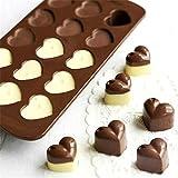 nicebuty Generic Silikon Schokolade Kuchen Jelly S??igkeiten in Herz Form