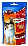 6 Stück Crumbies mit Malz Katzensnack, 6 x 50 g Sparpaket